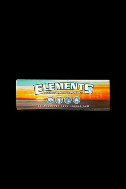 "Elements Ultra Thin Rice 1 1/4"" Rolling Papers - 25 Pack Bulk"