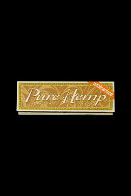 "Pure Hemp Unbleached 1 1/4"" Rolling Papers - 24 Pack Display"