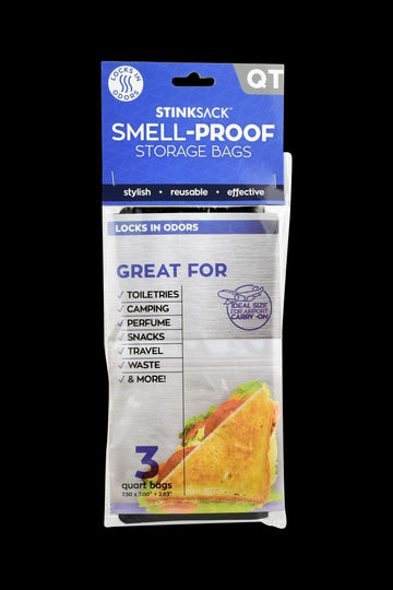 Stink Sack Smell Proof Storage Bags - Stink Sack Smell Proof Storage Bags