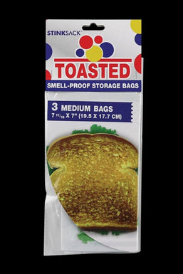 Stink Sack Toasted Smell-Proof Storage Bags - 3 Pack
