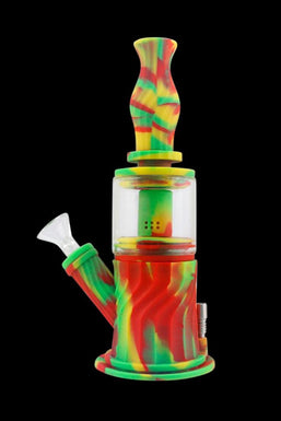 4-in-1 Multifunction Silicone Water Pipe
