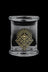 "X Small - 420 Science ""Geometric Pattern"" Glass Jar"