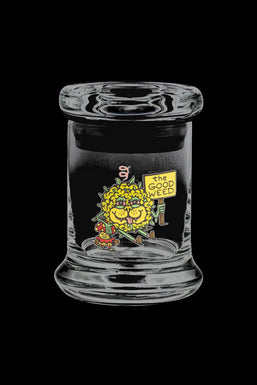 """420 Science """"The Good Weed"""" Glass Jar"""