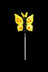 Butterfly - Themed Glass Poker & Dabber Tool