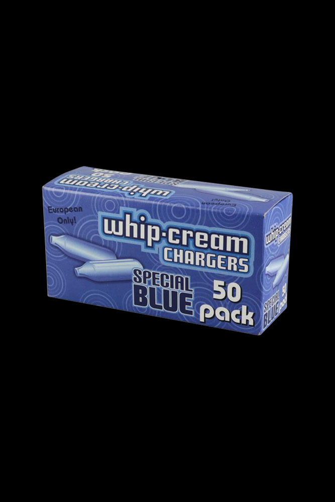 Clearance 24 Count Special Blue N2O Whipped Cream Chargers