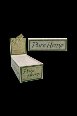 Pure Hemp Single Wide Rolling Papers - 50 Pack