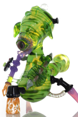 Dahn Lindstrom Worked Green Alien Rig