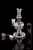 "The ""Exosphere"" Mini Fab Egg Dab Rig with Seed of Life Perc and Quartz Banger - The ""Exosphere"" Mini Fab Egg Dab Rig with Seed of Life Perc and Quartz Banger"