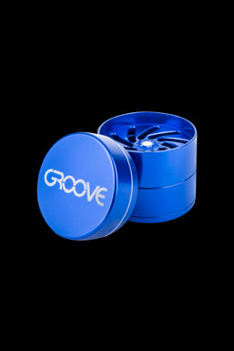 Aerospaced Groove 4-Piece Aluminum Grinders