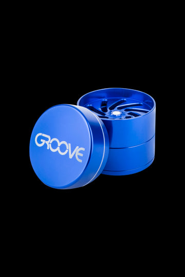 Aerospaced Groove 4-Piece Aluminum Grinders - Aerospaced Groove 4-Piece Aluminum Grinders