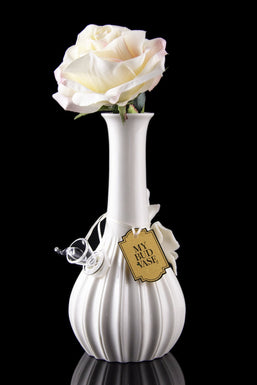 My Bud Vase Rose Porcelain Vase Water Pipe