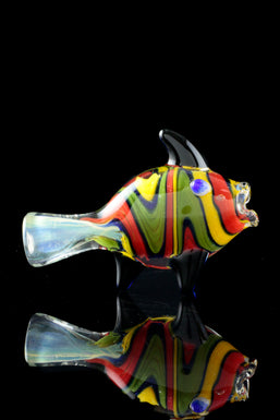"""Coral Reefer"" Fish Chillum"