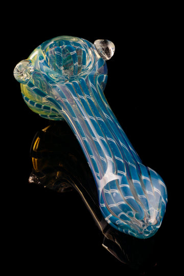 """Snake Skin"" Thick Fumed Hand Pipe - ""Snake Skin"" Thick Fumed Hand Pipe"