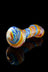 """Blazing Glory"" Heavy Swirl Rasta Hand Pipe - ""Blazing Glory"" Heavy Swirl Rasta Hand Pipe"