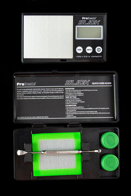 Pro Scale 0.01g SLICK Kit Concentrate Scale