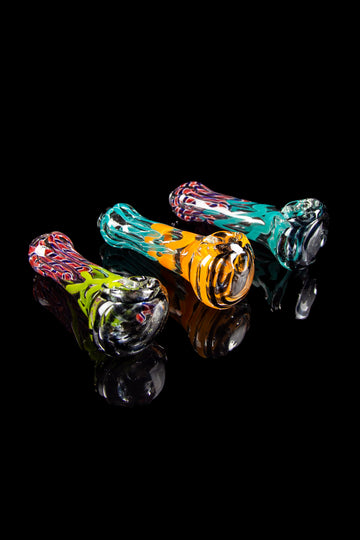 Classic Colorful Spoon Hand Pipe - Classic Colorful Spoon Hand Pipe