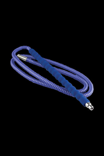 Blue - Amira 6ft Lexi Hookah Hose with Soft Handle