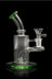 """Green Meanie"" Dab Rig with Color Base and Mouthpiece - ""Green Meanie"" Dab Rig with Color Base and Mouthpiece"