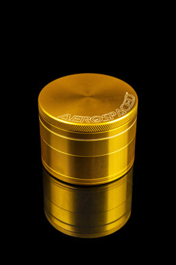 Aerospaced Anodized Aluminum Grinders by Higher Standards