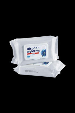 50-Piece Alcohol Wipes Pack