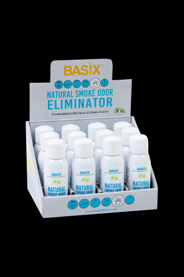 Basix Natural Smoke Odor Eliminator Spray - Bulk 12 Pack