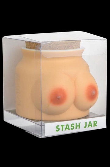 Boobs Ceramic Stash Jar