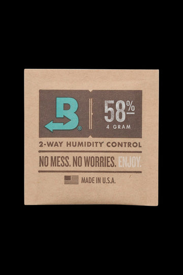 X Small (Up to 4 Grams) - Boveda Humidity Control Pack for Dry Herbs - 58%
