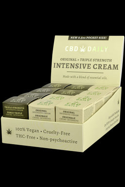 CBD Daily Intensive Cream - Original & Triple Strength (24 Pack)