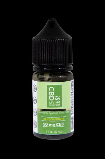 CBD Living 1oz Hand Sanitizer with Aloe