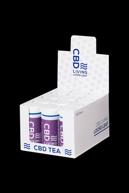 CBD Living Loose Tea - 12 Pack
