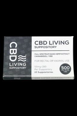 CBD Living Suppository - 12pc Pack