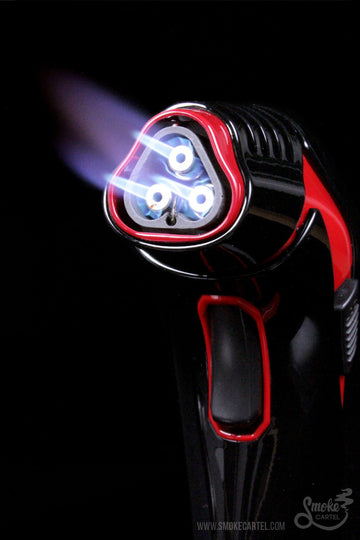 Cinderwitch Triple Jet Flame Torch - Cinderwitch - - Cinderwitch Triple Jet Flame Torch