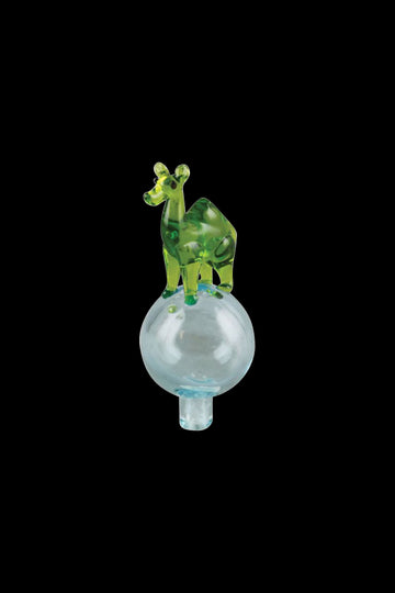 "Green / Blue - ""Camel"" Animal Bubble Carb Cap"