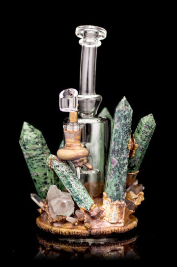 "Envy Glass ""Celestial"" Heady Dab Rig - Envy Glass ""Celestial"" Heady Dab Rig"