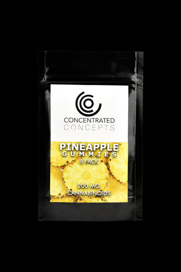 Pineapple - Concentrated Concepts CBD Gummies
