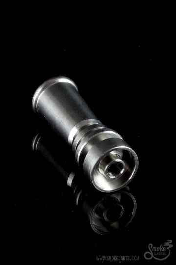 Domeless Female Titanium Nail for 10mm Joints - Smoke Cartel -  - Domeless Female Titanium Nail for 10mm Joints