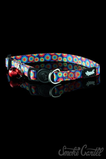 Featured View - Tie Dye color variant - HeadyPet Cat Collar