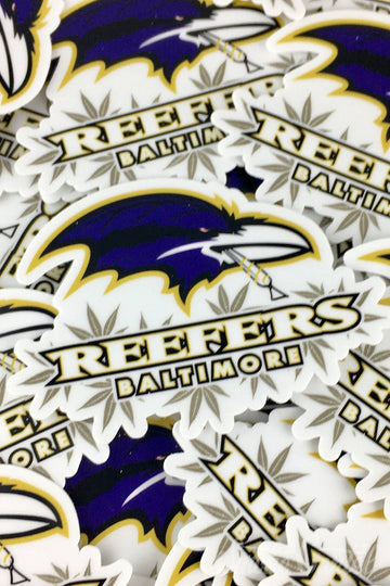 Baltimore Reefers - ErrlyBird Football Sticker - ErrlyBird - - ErrlyBird Football Sticker