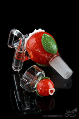 "Empire Glassworks ""Piranha Plant"" Honey Bucket"