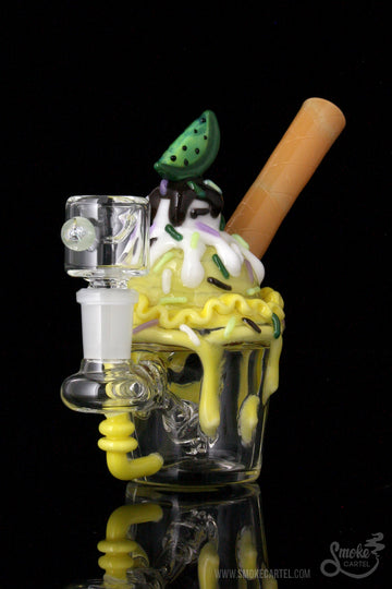 "Featured View - Empire Glassworks ""Key Lime Cupcake"" Nano Rig"