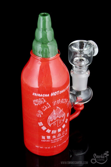 "Empire Glassworks ""Sriracha Sauce"" Bong - Empire Glassworks ""Sriracha Sauce"" Bong"