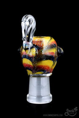 "Empire Glassworks ""Vibrant Garden"" Female Dome"