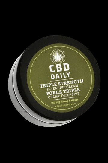 Earthly Body CBD Daily Triple Strength Intensive Cream