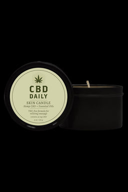 Earthly Body CBD Daily - Skin Candle
