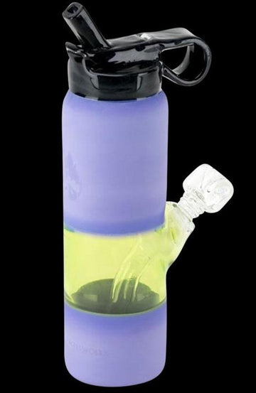 Water Bottle Mini Rig - Purple