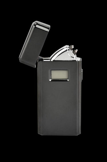 Black - Fujima Cross Fire Rechargeable Plasma Arc Lighter