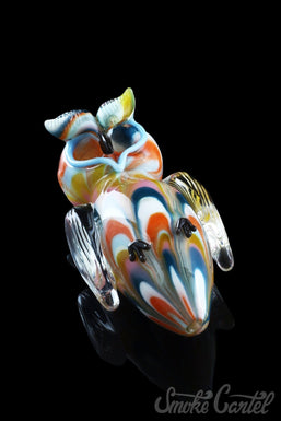 """Glassheads """"Hoot Owl"""" Animal Spoon with Double Bowls"""