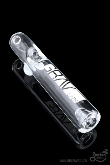 Featured View - Grav Labs Clear Glass Steamroller with Grav Decal