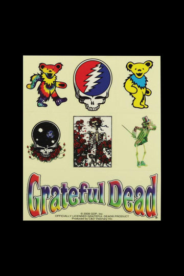 Grateful Dead Assorted 7pc Sticker Sheet
