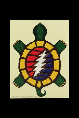 Grateful Dead Terrapin 13 Point Bolt Sticker